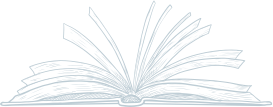 Line drawing of a book
